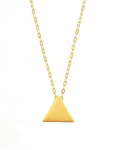 triangle diamond ct dollar gold mens sign pendant yellow